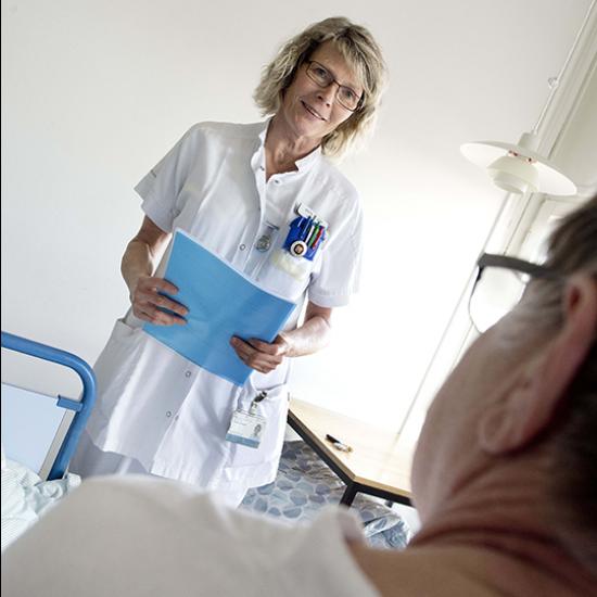 ØJEBLIK: Mundhygiejne på hospitalet